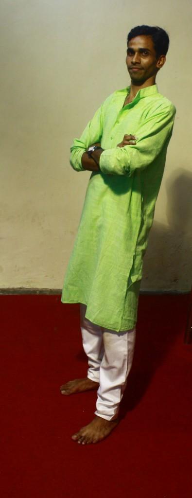 Yashwant in Traditional wear !!!
