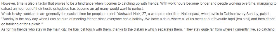 Yashwant Naik at DNA