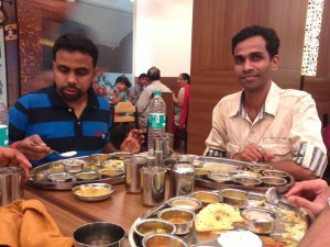 At Table, Rajdhani