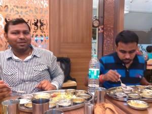 With Rahul and Ravi