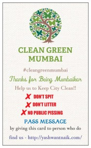 Card Design - cleangreenmumbai