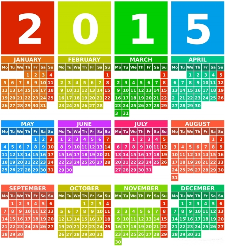 new year calender