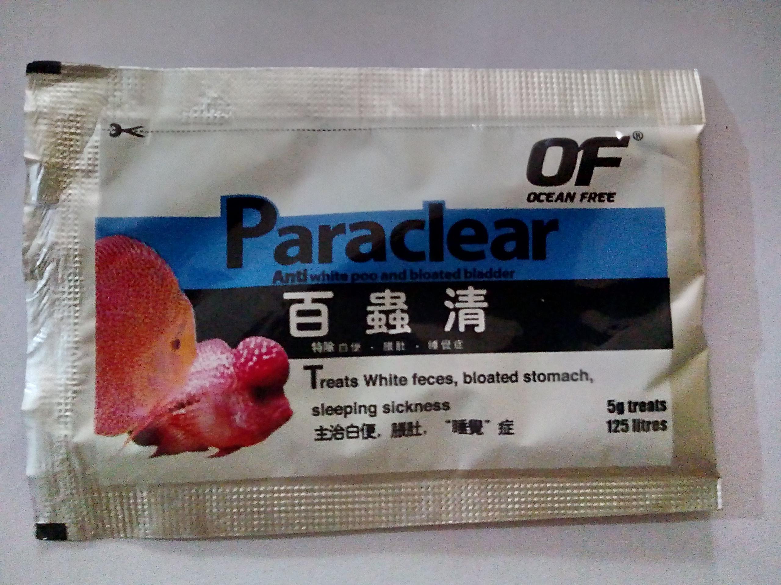 Buy ocean free paraclear flowerhorn white poop diseases nvjuhfo Gallery